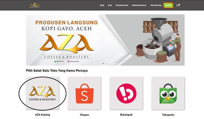 Panduan Belanja AZA Coffee